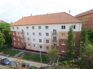 Revitalizace bytového domu Heyrovského 1565 v Sokolově
