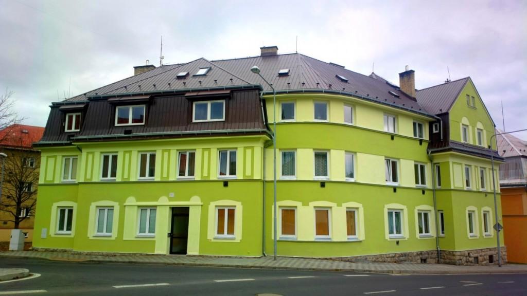 Zateplení fasády Praha