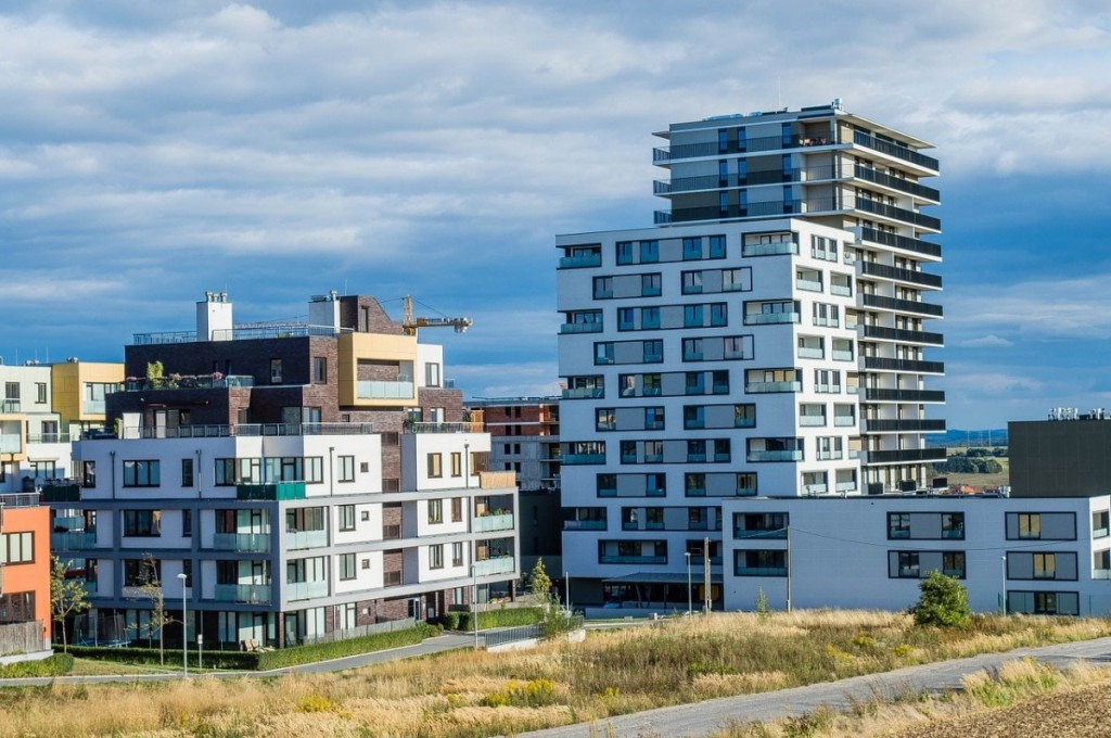 Výstavba bytů Plzeň